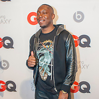 Rapper Dizzee Rascal posing at the GQ & Lebron James NBA All Star Style party sponsored by Samsung Galaxy on Saturday, February 15, 2014, at the Ogden Museum of Southern Art in New Orleans, Louisiana with live jam session from grammy Award-winning Artist The Roots. Photo Credit: Gustavo Escanelle / Retna Ltd.