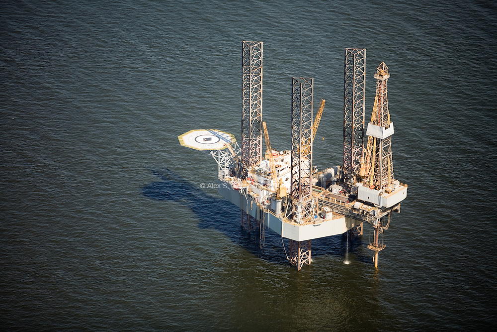 Offshore oil platform, Plaquemines, LA