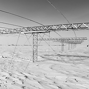 SuperDARN antenna array and South Pole Station
