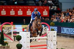 AHLMANN Christian (GER), Cornwell<br /> Leipzig - Partner Pferd 2018   <br /> Internationale Zeitspringprüfung Preis des Stern Auto Center<br /> © www.sportfotos-lafrentz.de/Stefan Lafrentz
