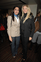 Left to right, RENU MEHTA and HEATHER TCHENGUIZ at a lunch hosted by Ralph Lauren to present their Spring 2007 collection in support of the Serpentine Gallery's Education Programme, held at Fifty, 50 St.James's Street, London SW1 on 20th March 2007.<br />