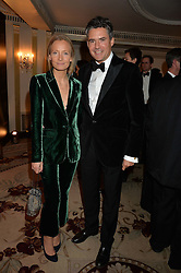 MARTHA WARD and EDWARD TAYLOR at the 26th Cartier Racing Awards held at The Dorchester, Park Lane, London on 8th November 2016.