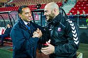 ALKMAAR - 19-12-2015, AZ - FC Utrecht, AFAS Stadion, 2-2, Denny Landzaat, FC Utrecht speler Ruud Boymans