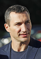 October 1, 2018 - Kiev, Ukraine - Ukrainian boxer VLADIMIR KLITSCHKO takes part at the opening of the 56th World Boxing Convention in Kiev, Ukraine, on 1 October 2018.The WBC 56th congress in which take part boxing legends Evander Holyfield,Lennox Lewis, Eric Morales and about 700 participants from 160 countries runs in Kiev from from September 30 to October 5. (Credit Image: © Serg Glovny/ZUMA Wire)