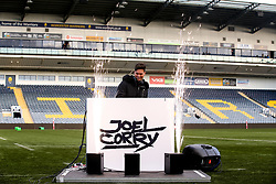 Joel Corry performs a DJ set ahead of Worcester Warriors Women v Bristol Bears Women - Mandatory by-line: Robbie Stephenson/JMP - 01/12/2019 - RUGBY - Sixways Stadium - Worcester, England - Worcester Warriors Women v Bristol Bears Women - Tyrrells Premier 15s
