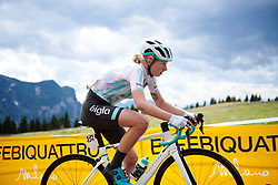 Mikayla Harvey (NZL) during Stage 9 of 2019 Giro Rosa Iccrea, a 125.5 km road race from Gemona to Chiusaforte, Italy on July 13, 2019. Photo by Sean Robinson/velofocus.com