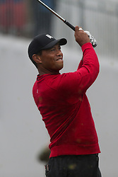 September 10, 2018 - Newtown Square, Pennsylvania, United States - Tiger Woods tees off the 17th hole during the final round of the 2018 BMW Championship. (Credit Image: © Debby Wong/ZUMA Wire)