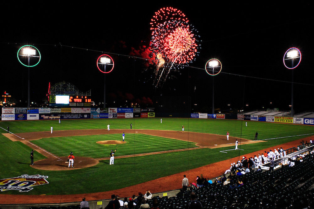 MCU Park.  Coney Island, Brooklyn