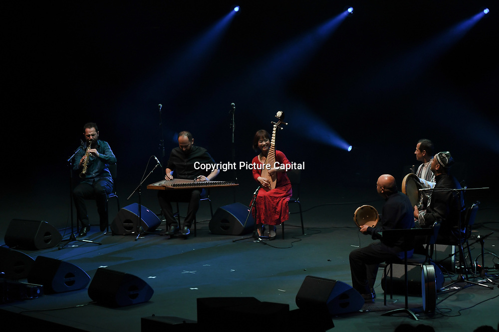 Rohat by Kronos Quartet with Wu Man & Sirojiddin Juraev at the Jubilee - Master Musicians of the Aga Khan Music Initiative at the Royal Albert Hall, London, UK on June 20 2018.
