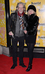 Graeme Clarke and Beverley Clark attend Beautiful - The Carole King Musical at The Aldwych Theatre, The Aldwych, London on Tuesday 24 February 2015 February 2015