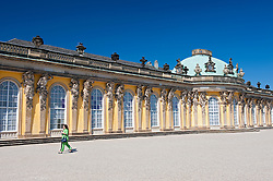 Schloss Sanssouci  in Potsdam Germany