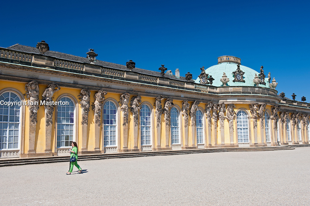 Schloss Sanssouci  in Potsdam Germany