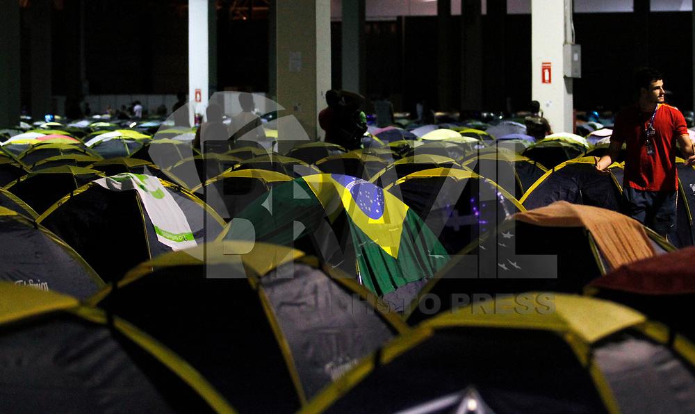 SÃO PAULO, SP, 10 DE JANEIRO DE 2011 - CAMPUS PARTY - Movimentação no Campus Party no Centro de Exposições Imigrantes na região sul da capital paulista. (FOTO: VANESSA CARVALHO / NEWS FREE).