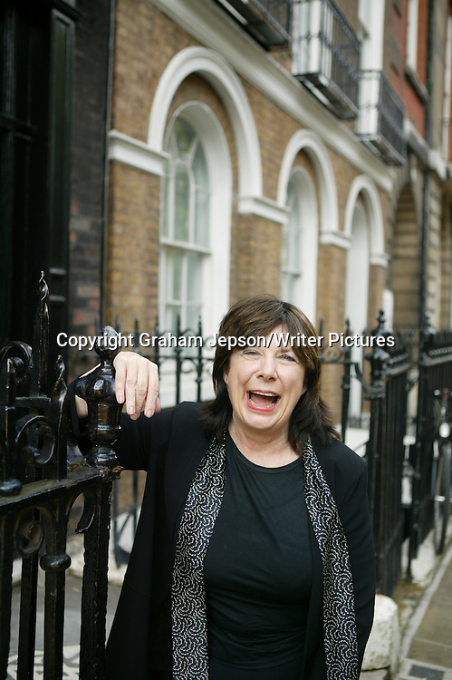 Fiona MacCarthy, OBE (b. 1940), British biographer and cultural historian, who also wrote an account of her being a debutante in the late fifties, photographed in London on September 27th, 2006.