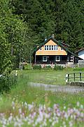 altes Haus, Altschönau, Bayerischer Wald, Bayern, Deutschland | old house, Altschönau, Bavarian Forest, Bavaria, Germany