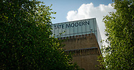 London, England - May 05, 2014: Tate Modern Art Gallery located  in the Bankside area of the London Borough of Southwark, Established in 2000.