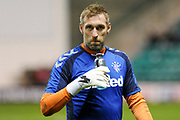 Allan McGregor before the Ladbrokes Scottish Premiership match between Hibernian and Rangers at Easter Road, Edinburgh, Scotland on 19 December 2018.