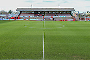 Whaddon Road during the Vanarama National League match between Cheltenham Town and Forest Green Rovers at Whaddon Road, Cheltenham, England on 21 November 2015. Photo by Shane Healey.