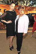 June 30, 2012-Los Angeles, CA : (L-R) Recording Artist Knoelle Higginsen and BET Honoree Vy Higginsen attends the 2012 BET Pre-Awards Reception held at Union Station on June 30, 2012 in Los Angeles, California. The BET Awards were established in 2001 by the Black Entertainment Television network to celebrate African Americans and other minorities in music, acting, sports, and other fields of entertainment over the past year. The awards are presented annually, and they are broadcast live on BET. (Photo by Terrence Jennings)