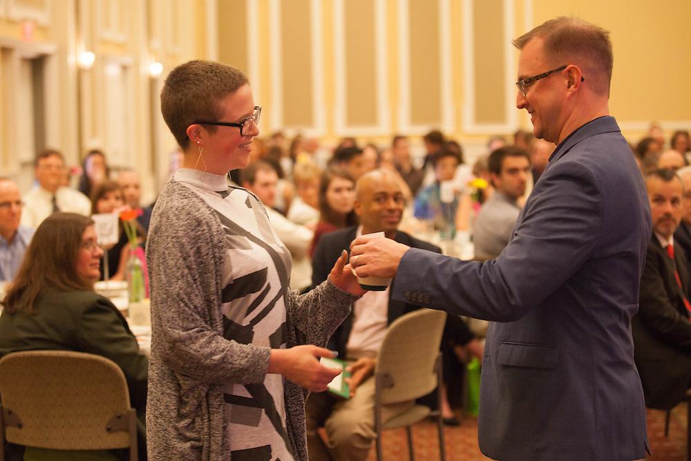 HTC Graduation Dinner Celebration. ©Ohio University/ Photo by Kaitlin Owens