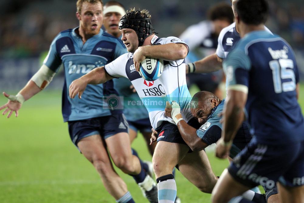 Benn Robinson. Investec Super Rugby - Blues v Waratahs, Eden Park, Auckland, New Zealand. Saturday 16 April 2011. Photo: Clay Cross / photosport.co.nz