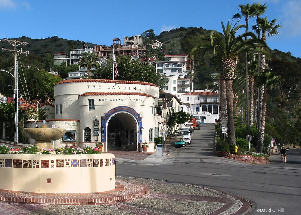 Downtown Avalon, Catalina California Tourist Shopping ..Catalina Island is just 22 miles off the coast of Long Beach in Southern California. Catalina Island, California