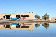 Merzouga, Saharan town, Morocco, 2017-12-19.