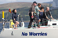 Largs Regatta Festival 2018<br /> <br /> Day 1 - GRB9887T, No Worries, Dr Jim Dervin, Tees and Hartlepool, J109<br /> <br /> Images: Marc Turner