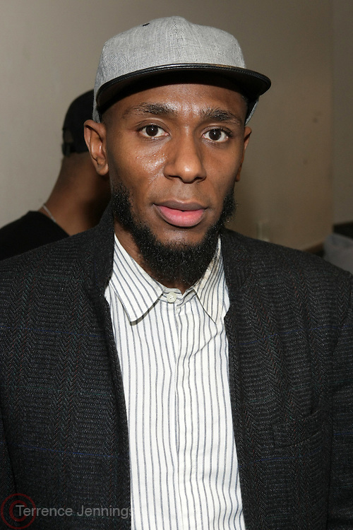 New York, NY- January 6, 2012-  Recoding Artist Yasiin Bey formely known as Mos Def backstage at the First Annual Indelible Festival produced by Jill Newman Productions held at Highline Ballroom on January 6, 2012 on January 6, 2012 in New York City. Photo Credit: Terrence Jennings