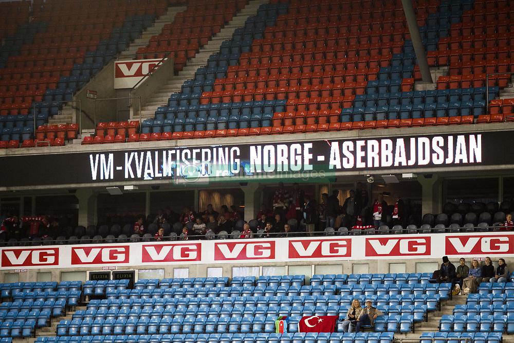 September 1, 2017 - Oslo, NORWAY - 170901 Spectators during the FIFA World Cup Qualifier match between Norway and Azerbaijan on September 1, 2017 in Oslo..Photo: Jon Olav Nesvold / BILDBYRN / kod JE / 150000 (Credit Image: © Jon Olav Nesvold/Bildbyran via ZUMA Wire)