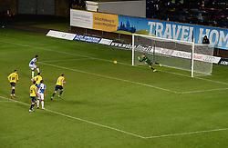 Ellis Harrison of Bristol Rovers scores from the penalty spot yo make it 2-1 - Mandatory byline: Alex James/JMP - 17/01/2016 - FOOTBALL - The Kassam Stadium - Oxford, England - Oxford United v Bristol Rovers - Sky Bet League Two