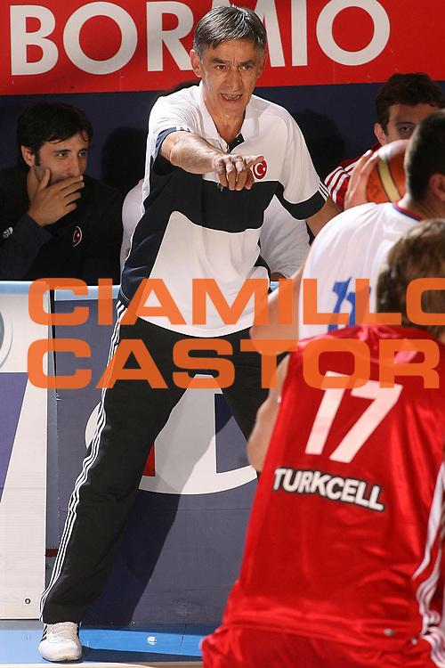 DESCRIZIONE : Bormio Torneo Internazionale Gianatti Serbia Turchia <br /> GIOCATORE : Boisa Tanjevic <br /> SQUADRA : Turchia <br /> EVENTO : Bormio Torneo Internazionale Gianatti <br /> GARA : Serbia Turchia <br /> DATA : 01/08/2007 <br /> CATEGORIA : Ritratto <br /> SPORT : Pallacanestro <br /> AUTORE : Agenzia Ciamillo-Castoria/S.Silvestri