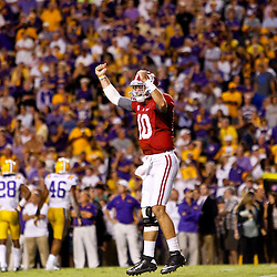 11-03-2012 Alabama Crimson Tide at LSU Tigers