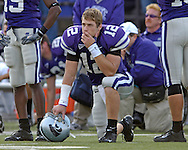 at KSU Stadium in Manhattan, Kansas, October 29, 2005.  The Buffaloes beat K-State 23-20.
