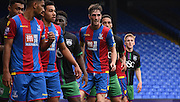 Ollie O'Dwyer awaits the corner during the Final Third Development League match between U21 Crystal Palace and U21 Bristol City at Selhurst Park, London, England on 3 November 2015. Photo by Michael Hulf.