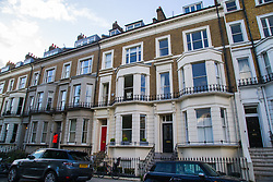 NATIONAL - The house at 35 St James's Gardens in Notting Hill that was burgled by the brother of the burglar who robbed Simon Cowell's home previously. London, May 02 2018.