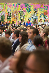 19.08.2015, Kongress, Alpbach, AUT, Forum Alpbach, Eröffnung, im Bild der Saal voller Menschen // during the opening press conference of European Forum Alpbach at the Congress in Alpach, Austria on 2015/08/19. EXPA Pictures © 2014, PhotoCredit: EXPA/ Jakob Gruber