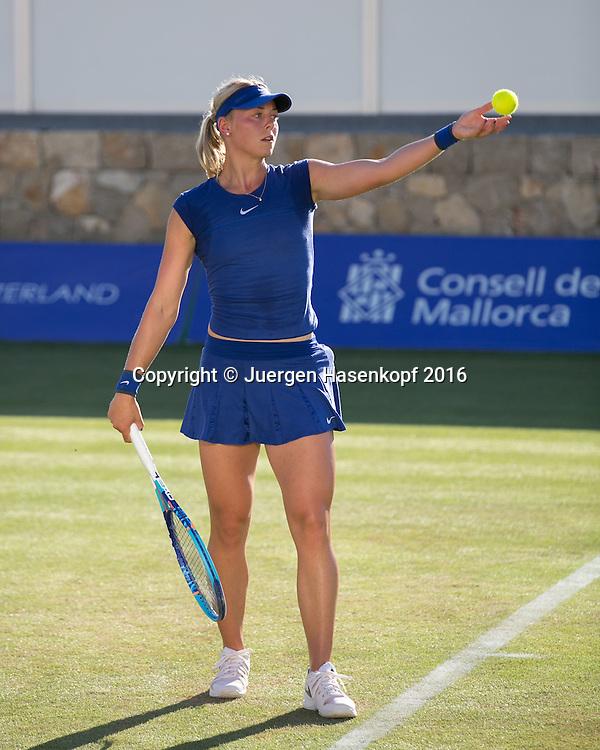 Carina Witthoeft (GER), Mallorca Open 2016<br /> <br />  -  -  WTA -  Santa Ponca Tennis Club - Santa Ponsa -  - Spanien  - 13 June 2016.