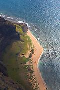 Milolii. Napali Coast, Kauai, Hawaii