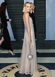 BEVERLY HILLS, LOS ANGELES, CA, USA - MARCH 04: 2018 Vanity Fair Oscar Party held at the Wallis Annenberg Center for the Performing Arts on March 4, 2018 in Beverly Hills, Los Angeles, California, United States. 04 Mar 2018 Pictured: Margot Robbie. Photo credit: IPA/MEGA TheMegaAgency.com +1 888 505 6342