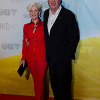 Ed Robinson, Chairman of CARAS /JUNO AWARDS RED CARPET 2013