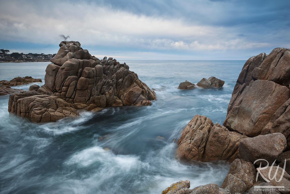 Lovers Point Park Seascape at Dawn, Pacific Grove, California