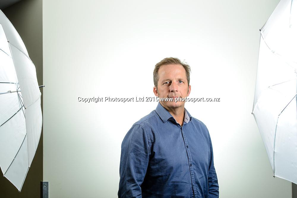 Greg Williamson, Basketball New Zealand Board Portraits, Wellington, New Zealand. Thursday 12 February 2015. Copyright Photo: Mark Tantrum/www.Photosport.co.nz