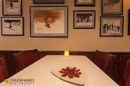 Elk Carpaccio at Cafe Kandahar on Big Mountain in Whitefish, Montana, USA