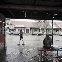 Street scene, Karakol, Kyrgyzstan