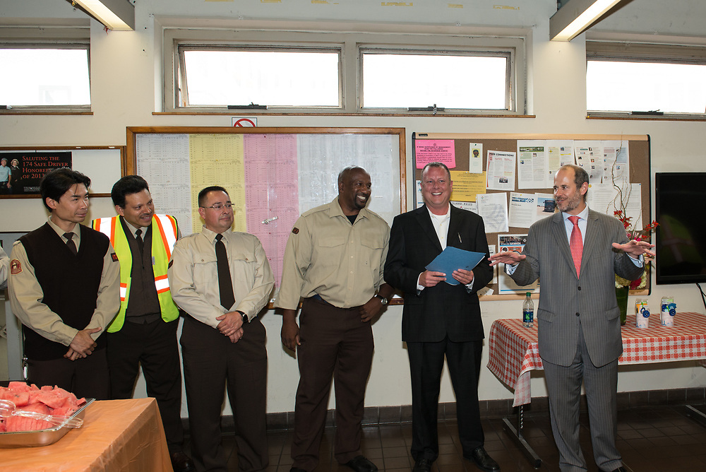 Cable Car Division System Wide Operator of the Month Ceremony | July 31, 2015