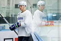 Miha Stebih of Slovenia during practice session of Slovenian Ice Hockey National Team at Day 4 of 2015 IIHF World Championship, on May 4, 2015 in Practice arena Vitkovice, Ostrava, Czech Republic. Photo by Vid Ponikvar / Sportida