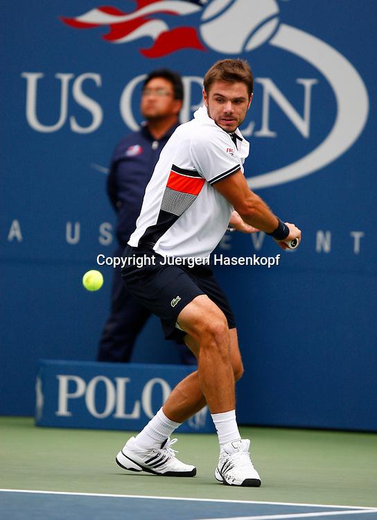 US Open 2010, USTA Billie Jean King National Tennis Center, Flushing Meadows, New York,.ITF Grand Slam Tennis Tournament . Stanislas Wawrinka (SUI)