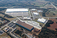 Aerial Photo Of The Amazon Distribution Center Located On Joe B Jackson Drive In Murfreesboro Tennessee
