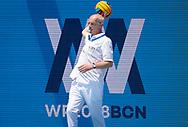 Referee KIKALISHVILI Irakli (GEO)<br /> TUR - HUN Turkey (white caps) vs. Hungary (blue caps) <br /> Barcelona 15/07/18 Piscines Bernat Picornell <br /> Women qualification<br /> 33rd LEN European Water Polo Championships - Barcelona 2018 <br /> Photo Giorgio Scala/Deepbluemedia/Insidefoto